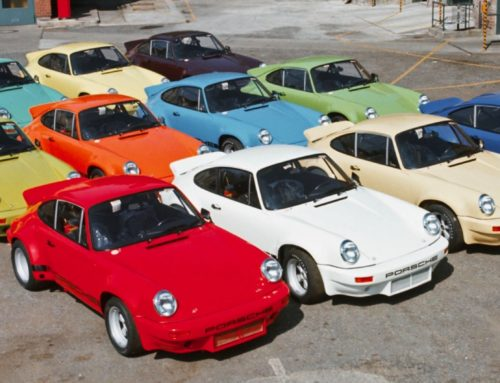 Colour to the people!  Die einst expressiven Farben des Porsche 911
