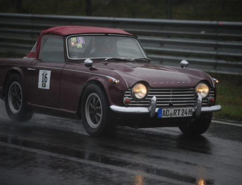 Erlebnisbericht: Im Triumph TR4 mit der ProtoChampSeries in Zandvoort