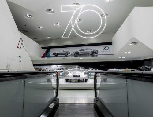 """Sonderausstellung """"70 Jahre Porsche Sportwagen"""""""