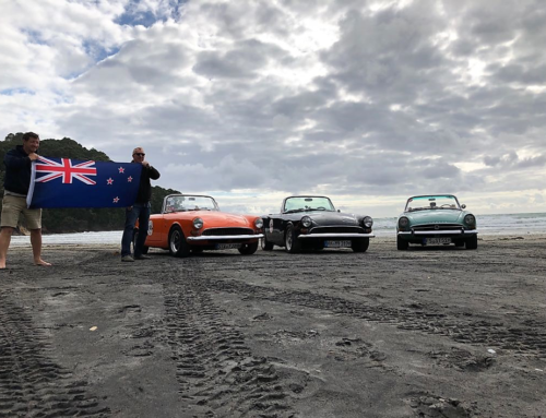 The TIGERS get the Fun: Mit drei Sunbeam Tiger durch Neuseeland!