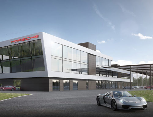 2019 entsteht ein neues Porsche Experience Center auf dem Hockenheimring
