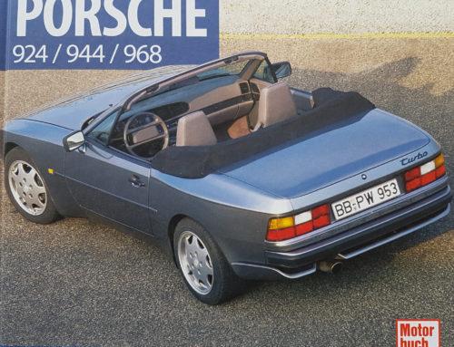 Buchtipp: Porsche 924 / 944 / 968 –– Es muss nicht immer ein 911er Buch sein!