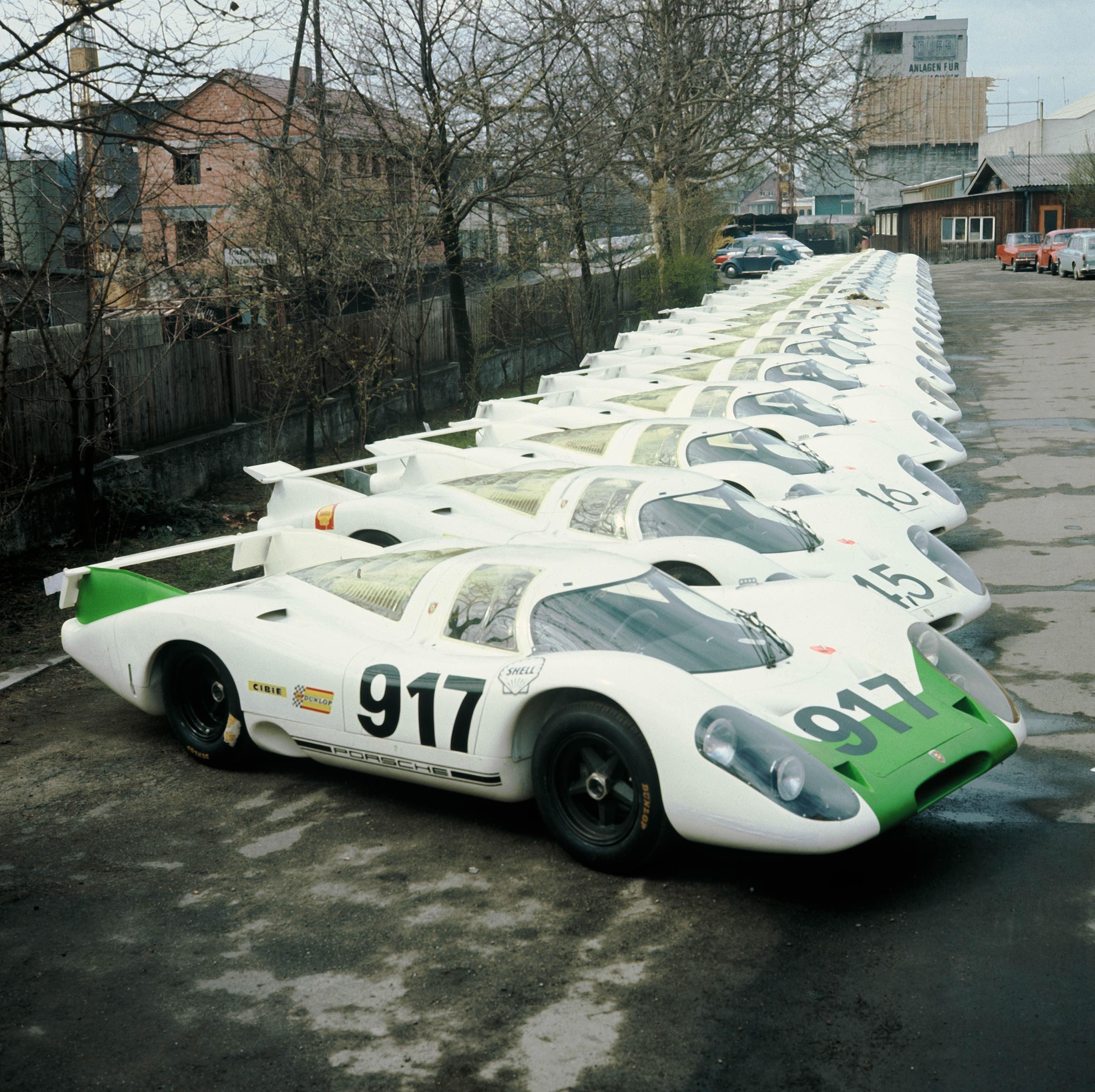 Der Porsche 917 feiert 50. Geburtstag – Kurzgeschichte einer Ikone