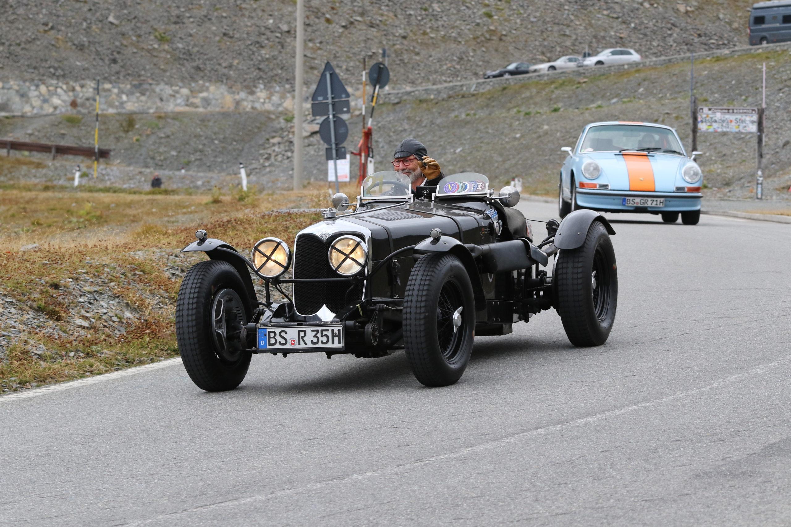 Sechs Tage Kurvenzauber mit dem Oldtimer in Süd-Tirol