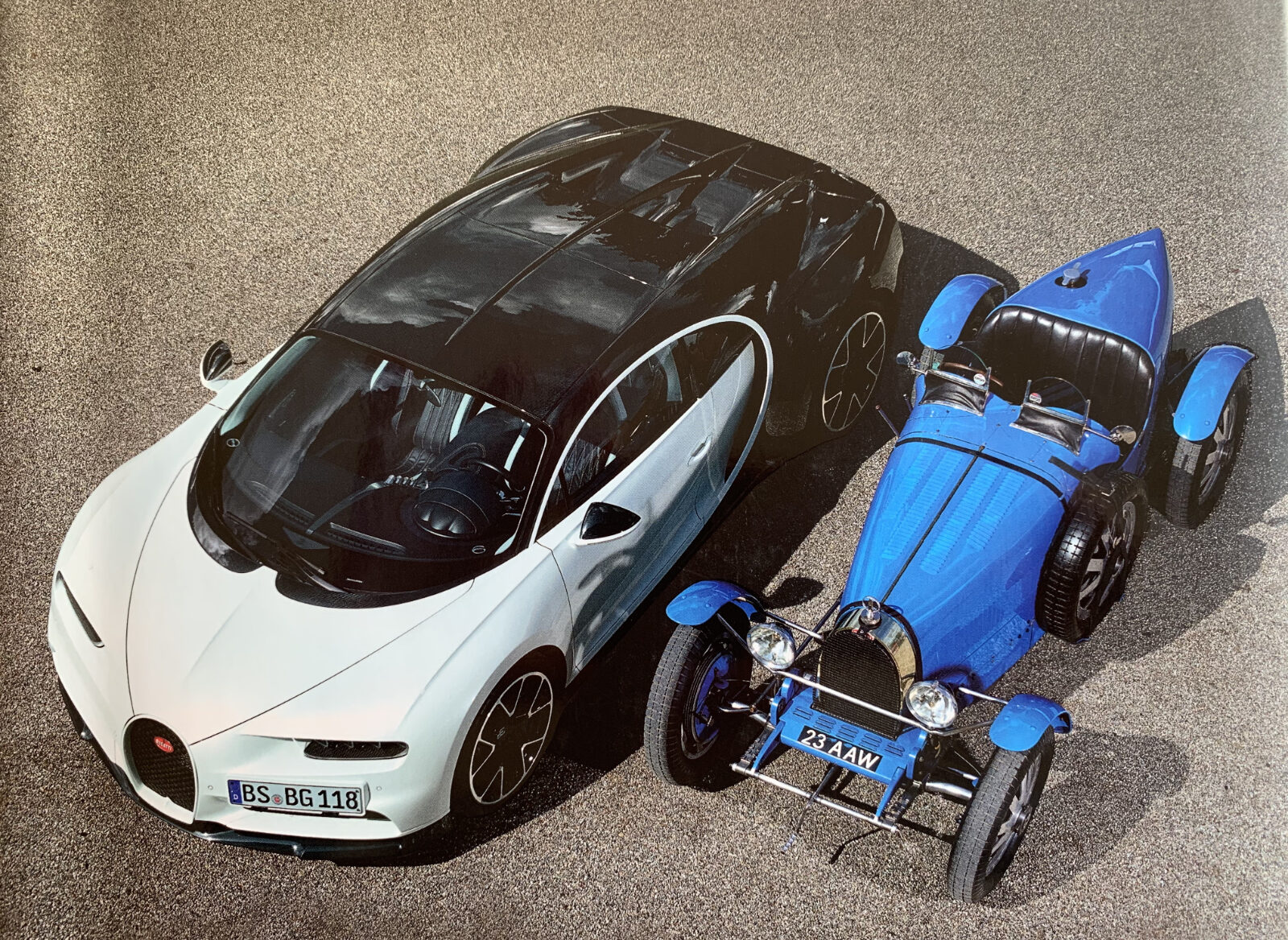 Art of Bugatti: Ein Buch zum Träumen und Staunen