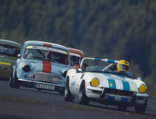 Leidenschaft für kleine, schnelle Sportwagen: Jörg und sein Leben mit und im Spitfire!