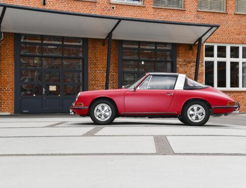 Die Wiedergeburt des ersten in Deutschland ausgelieferten Porsche 911 S Targa