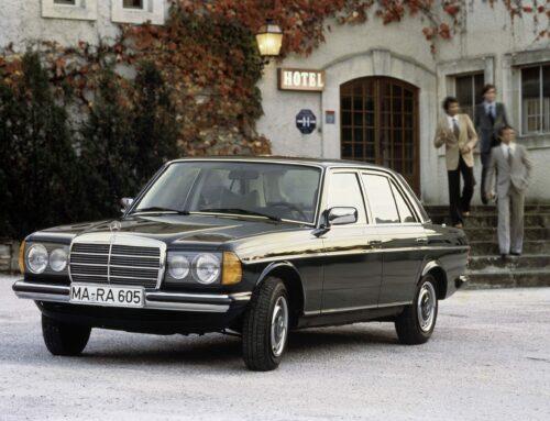 Mercedes W 123: Der Glänze-Benz